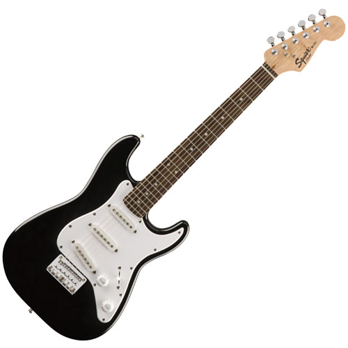 Squier Mini Stratocaster Electric Guitar - Rosewood Fretboard/Black