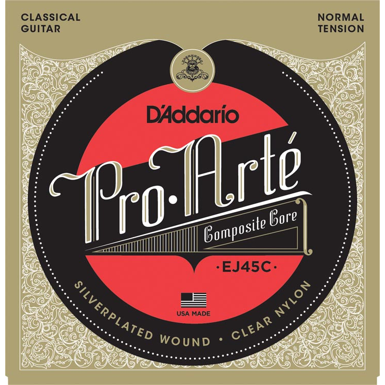 D'Addario EJ45C Pro-Arte Composite Classical Guitar Strings - Normal Tension