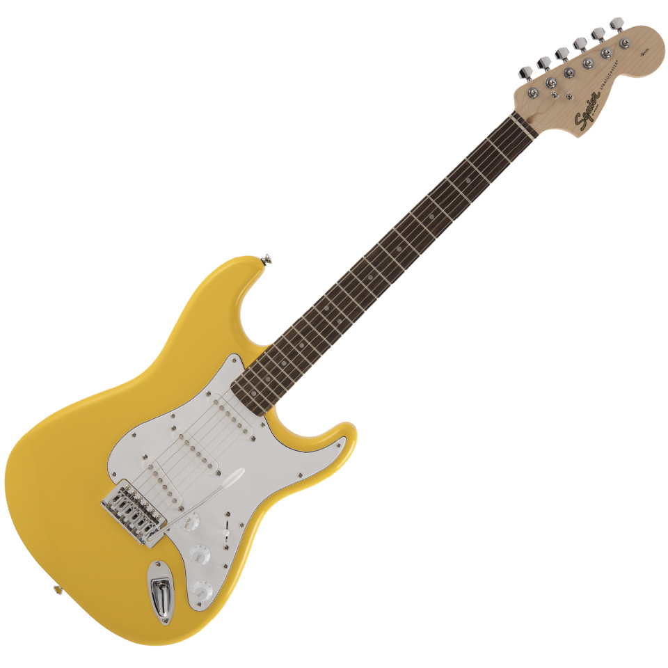 Squier FSR Affinity Series Stratocaster - Maple / Graffiti Yellow