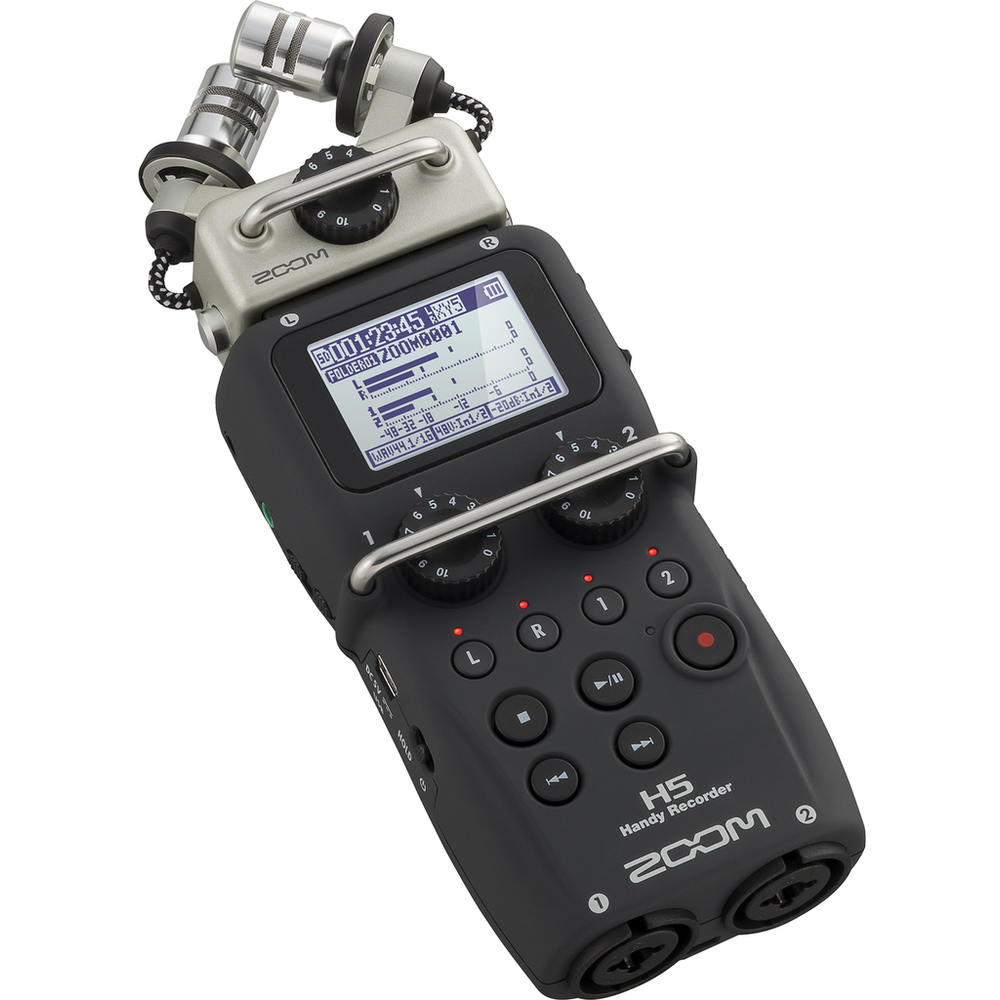 Zoom H5 Handy Stereo Audio Recorder w/interchangeable capsules
