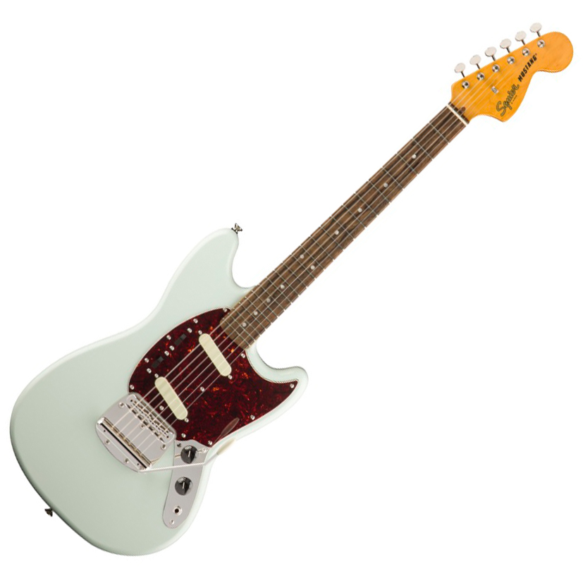 Squier Classic Vibe '60s Mustang - Indian Laurel Neck/Sonic Blue