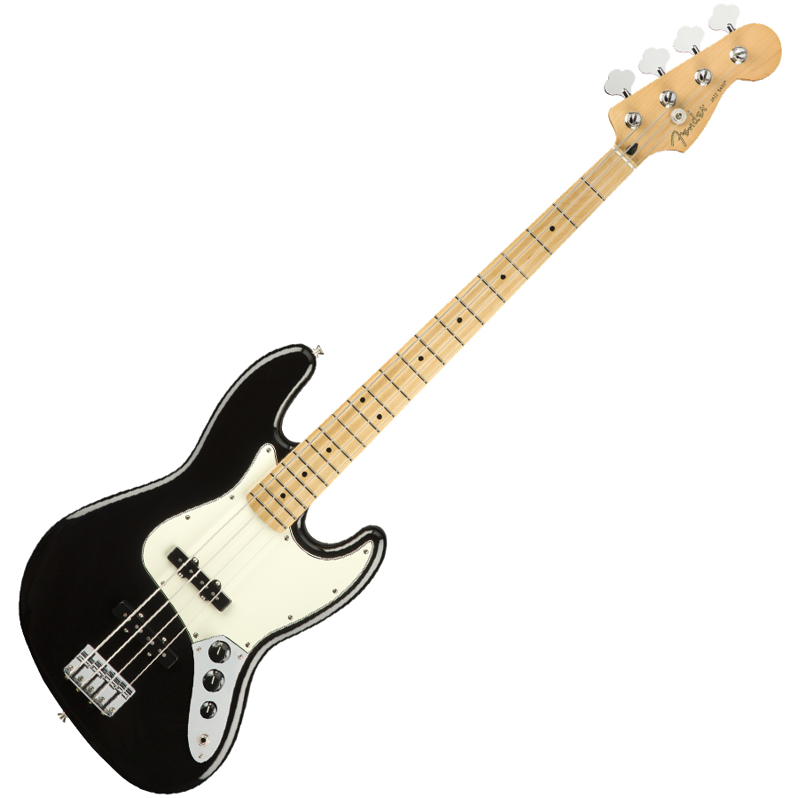 Fender Player Jazz Bass Guitar - Maple / Black