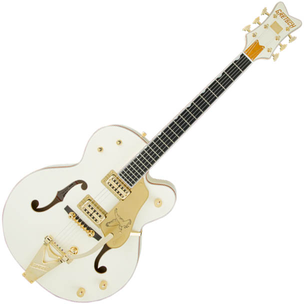Gretsch G6136T-59 Vintage Select Edition '59 Falcon Hollow Body w/Bigsby - TV Jones - Vintage White - Lacquer