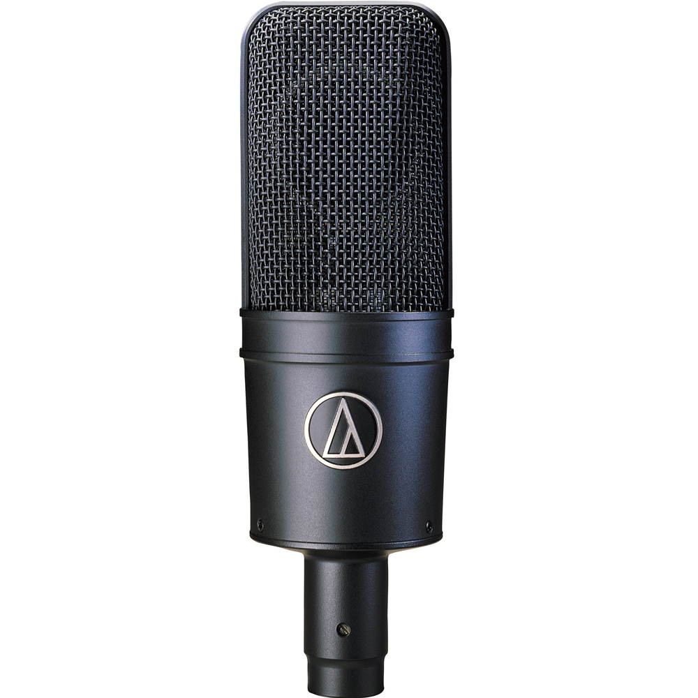 Audio-Technica AT4033A KIT Large diaphragm pre-polarized cardioid/HPF/pad/tranformerless (Inc: AT8449 shock mount)