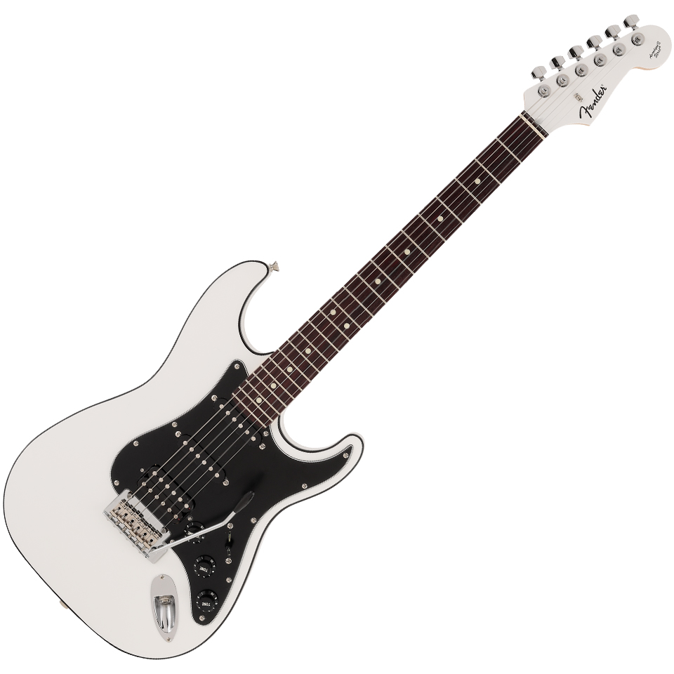 Fender Made in Japan Aerodyne II Stratocaster HSS - Rosewood Fingerboard - Arctic White