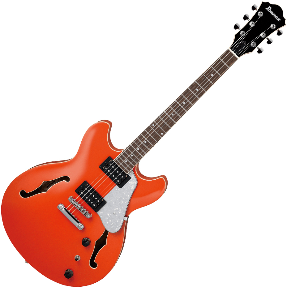 Ibanez AS63 TLO Artcore Electric Guitar - Twilight Orange