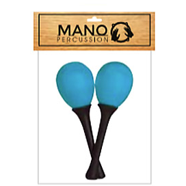Mano Percussion EM125 Egg Maracas On Handle-50g