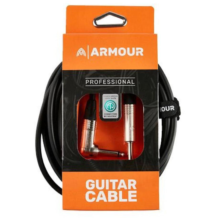 Armour NGPL20 20cm Guitar Patch Cable With Neutrik Connector