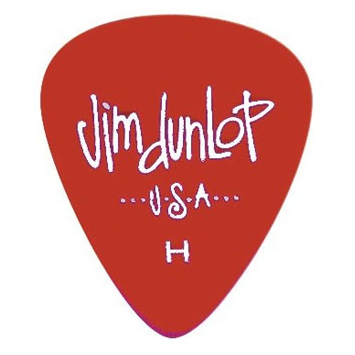 Jim Dunlop Picks - Players Pack Gels H (12)