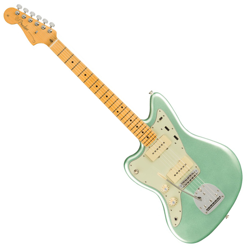 Fender American Professional II Jazzmaster Left-Hand - Maple/Mystic Surf Green