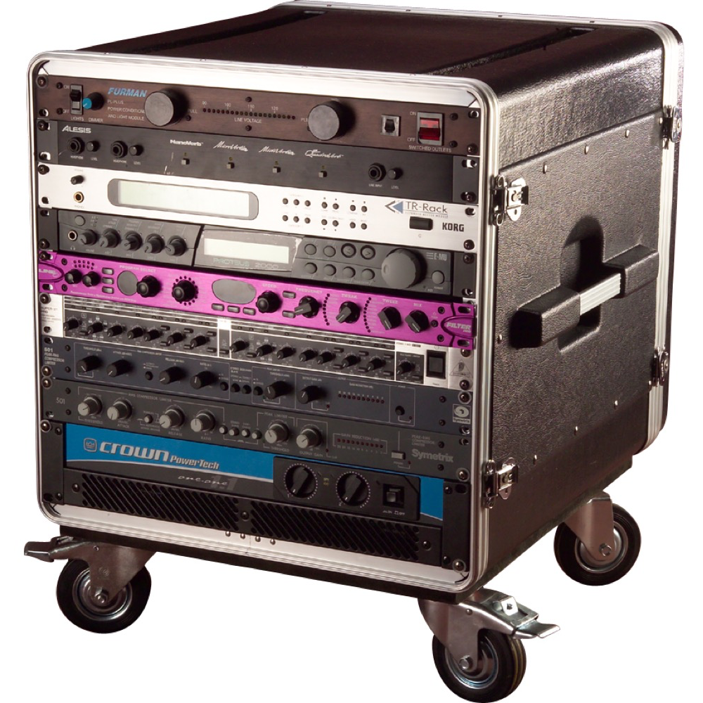GATOR GRC-BASE-10 MOLDED PE RACK 10U