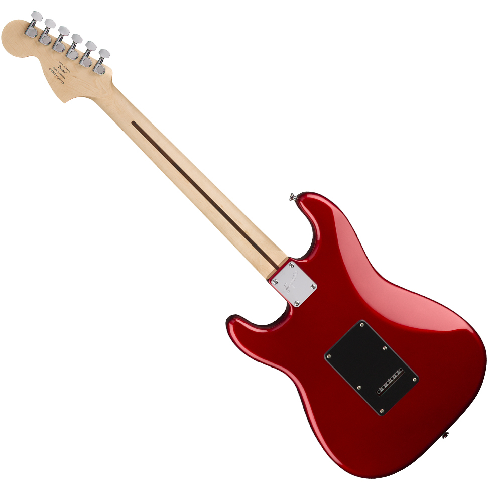 Squier Affinity Series Stratocaster HSS Electric Guitar Pack w/Amplifier - Laurel Fingerboard/Candy Apple Red