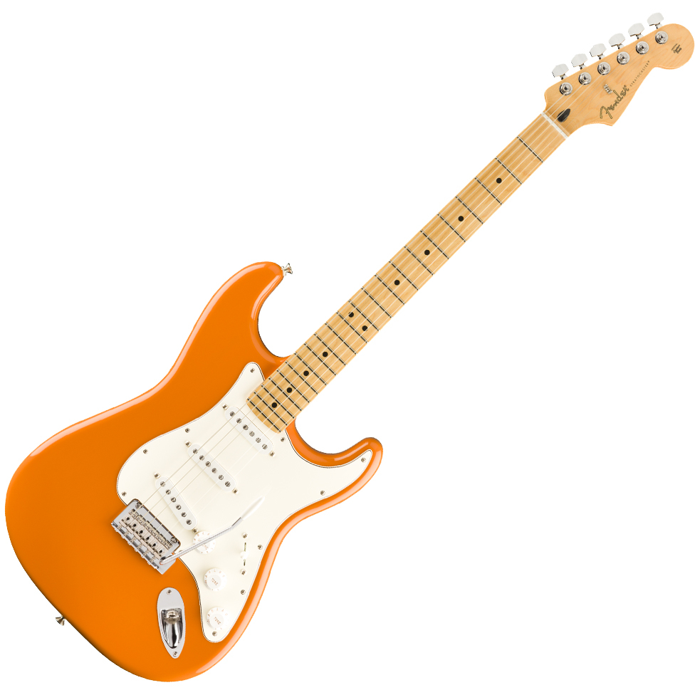 Fender Player Stratocaster - Maple Fingerboard - Capri Orange