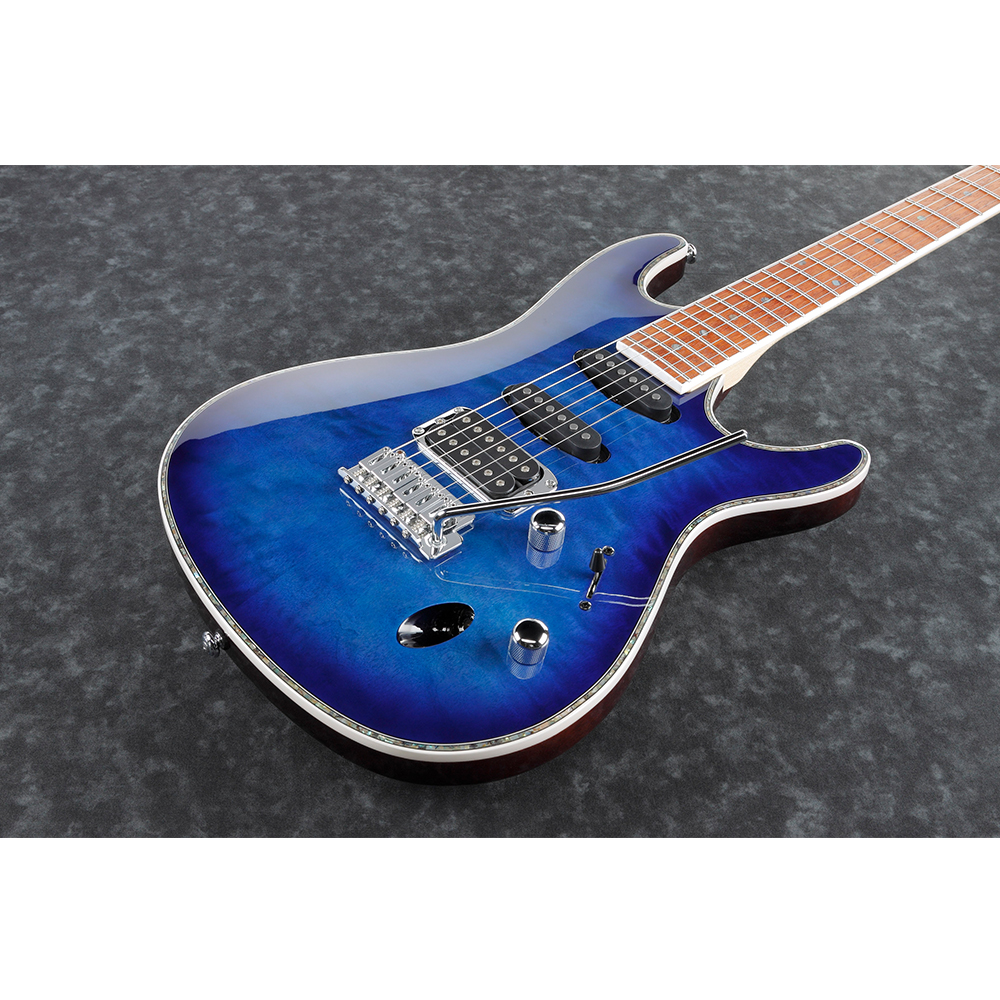 Ibanez SA360NQM SOB Electric Guitar - Blue