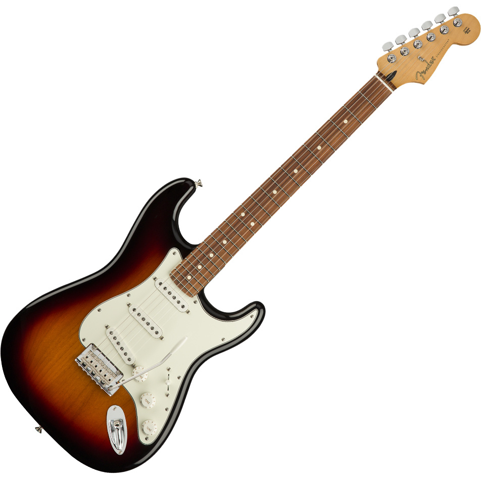 Fender Player Stratocaster Electric Guitar - Pau Ferro / 3-Color Sunburst