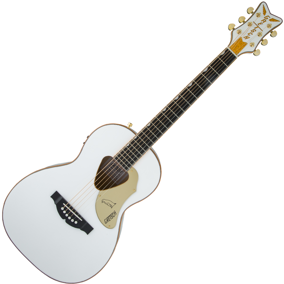 Gretsch G5021WPE Rancher Penguin Parlor Acoustic/Electric – w/Fishman Pickup - White