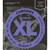 D'Addario ECG24-7 Chromes Flat Wound 7-String Electric Guitar Strings - Jazz Light - 11-65