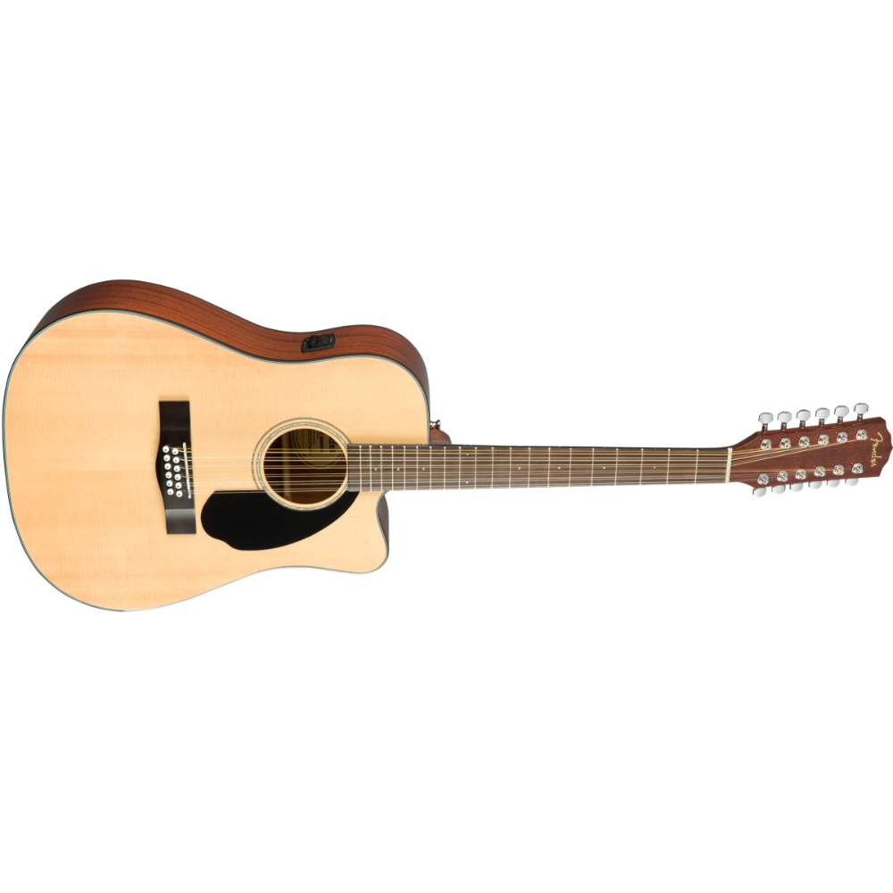 Fender CD-60SCE Dreadnought 12-string - Walnut Fingerboard - Natural
