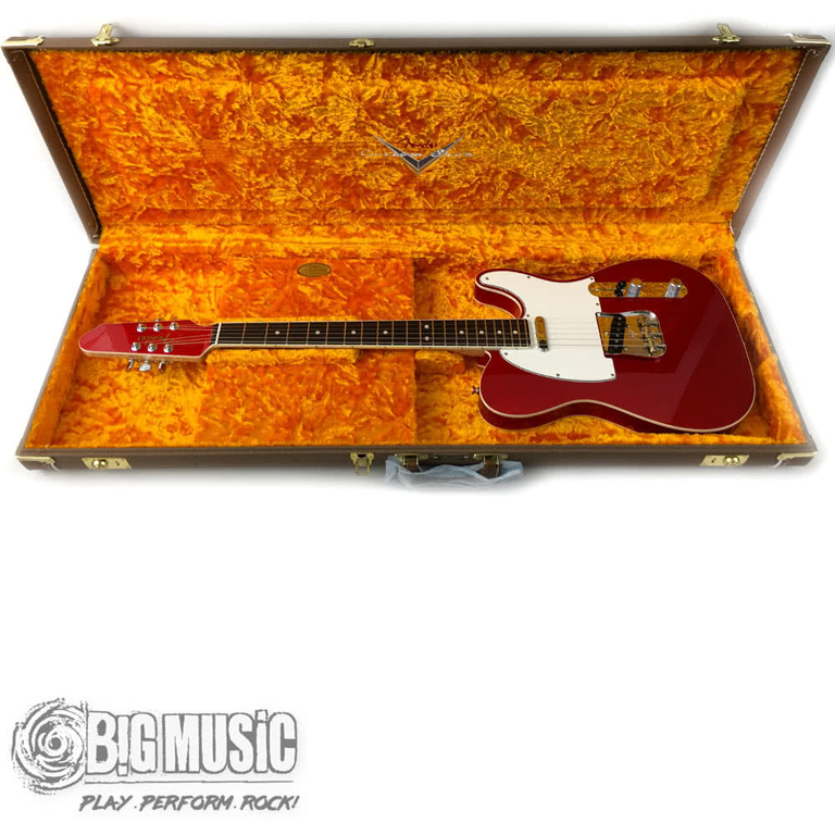 Fender Custom Shop '62 NOS Telecaster Gold Leaf/Candy Apple Red - Masterbuilt by Dale Wilson