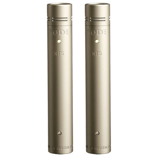 Rode NT5-MP Pencil Condenser Instrument Microphone (Matched Pair)
