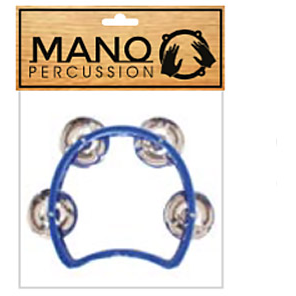 Mano Percussion TMP26BL Kids Tambourine