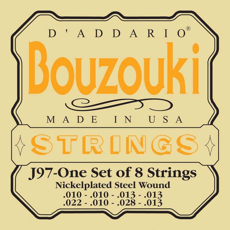D'Addario EJ97 Greek Bouzouki Strings