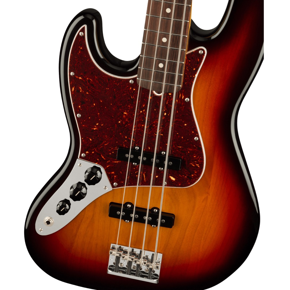 Fender American Professional II Jazz Bass Left-Hand - Rosewood/3-Color Sunburst