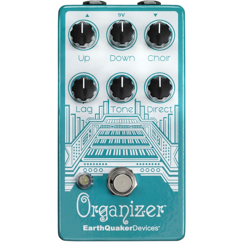 Earthquaker Devices Organizer Poly Organ Emulator V2