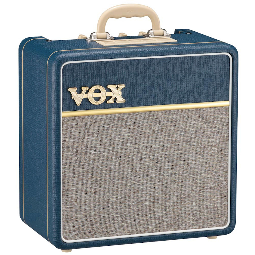 "VOX AC4C1 4W 10"" Guitar Amplifier Combo - Blue"