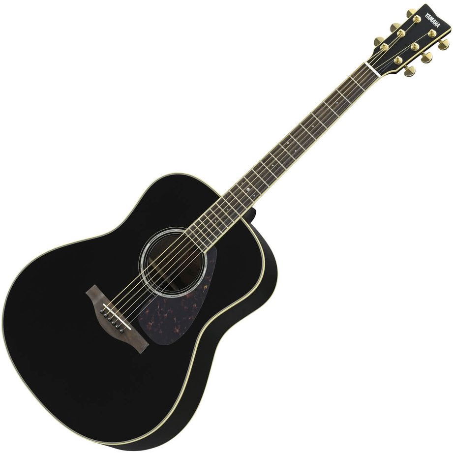 Yamaha LL6 ARE Black Acoustic Guitar