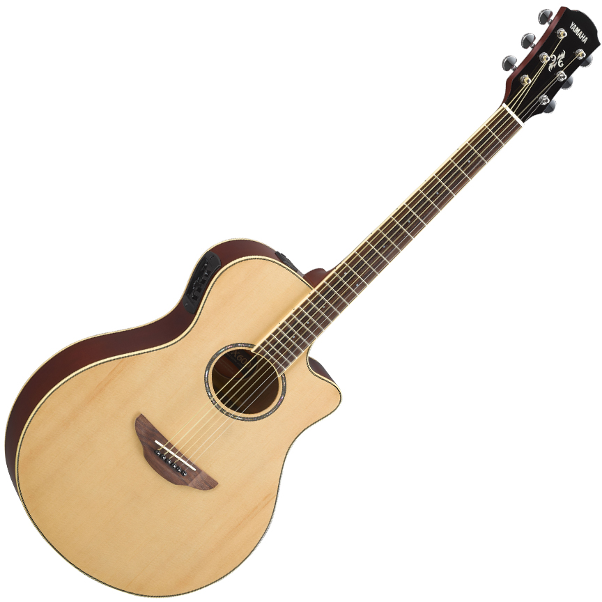 Yamaha APX600 Electric-Acoustic Guitar - Natural