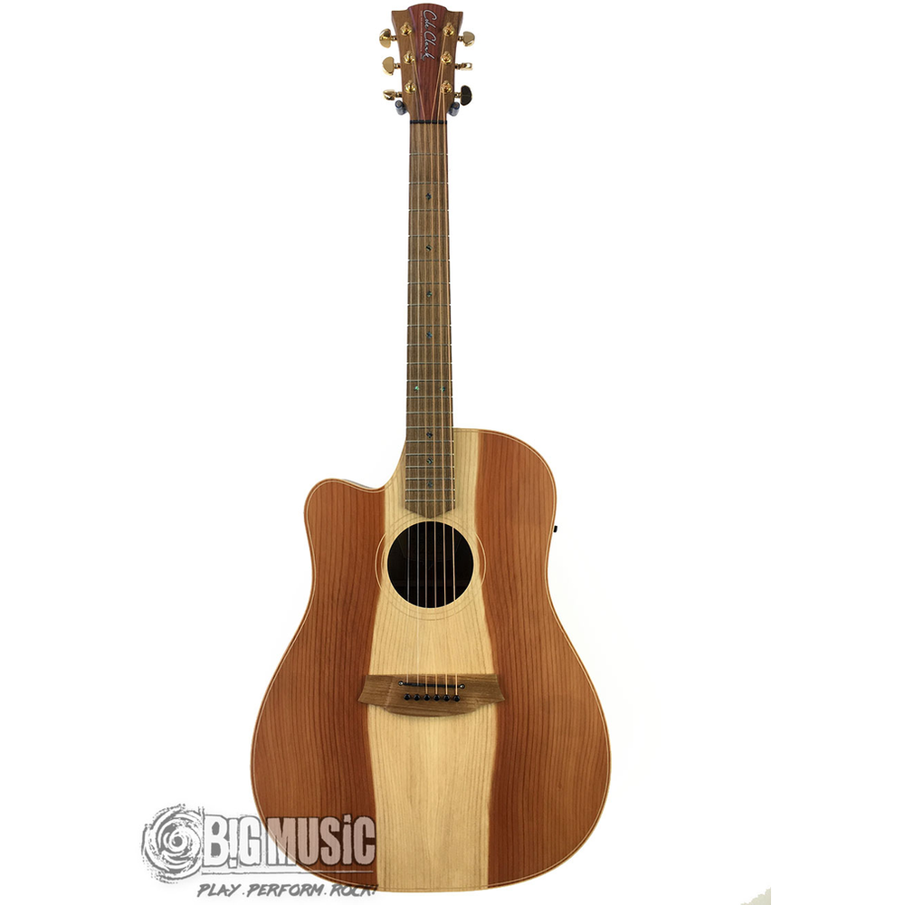 Cole Clark Fl Dreadnought - Redwood Face / Blackwood Back / Side - Cutaway - Left Handed