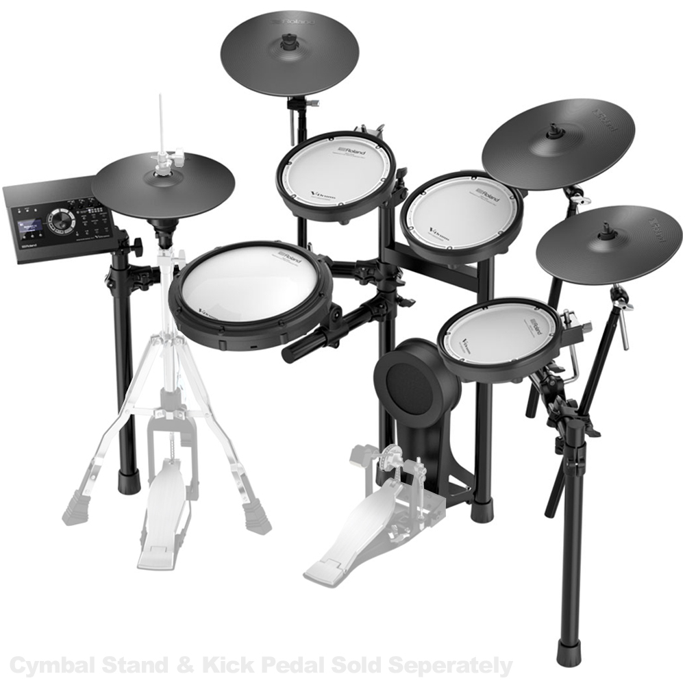 Roland TD17KVXS Electronic Drum Kit w/MDS4VX Stand