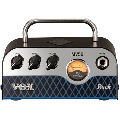 VOX MV50 Rock 50 Watt Nutube Guitar Amplifier Head
