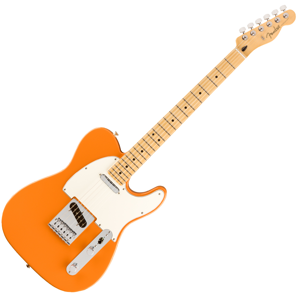 Fender Player Telecaster, Maple Fingerboard, Capri Orange