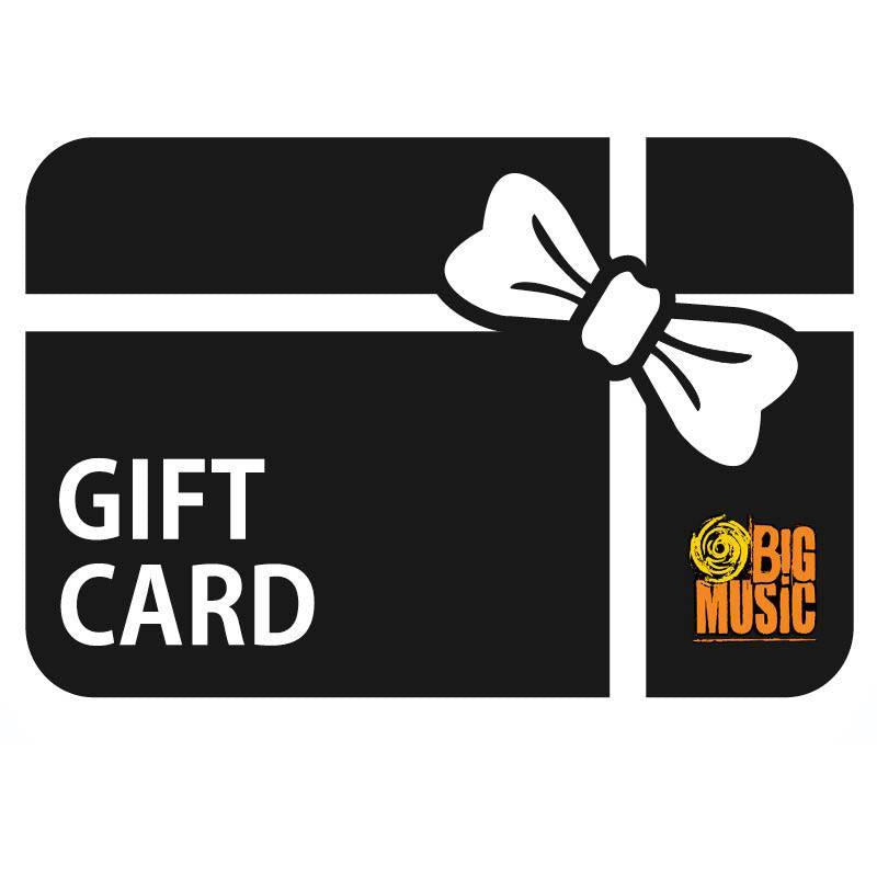 Big Music Gift Voucher