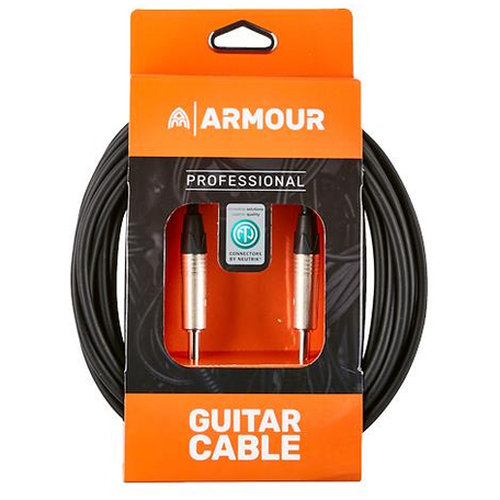 Armour NGP20 Guitar Cable - Neutrik Connector Jacks - 20 Foot