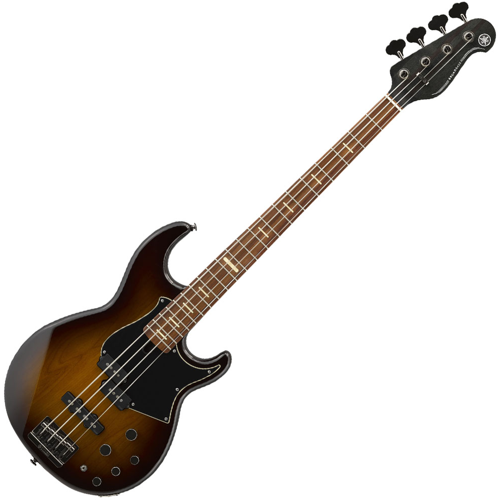 Yamaha BB734A Bass Guitar - Dark Coffee Sunburst