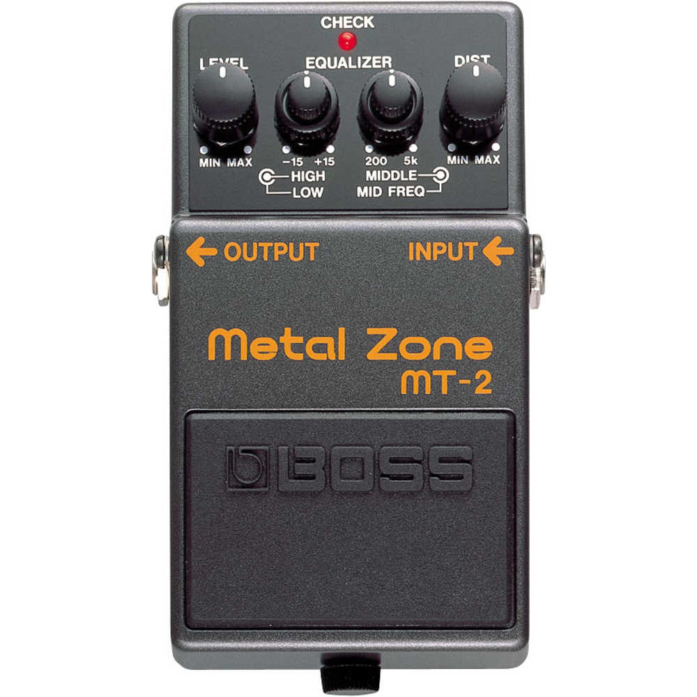 Boss MT2 Metal Zone Modern Distortion