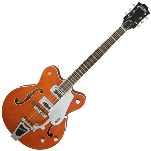 Gretsch G5422T Electromatic Hollowbody Double-Cut Electric Guitar - Orange Stain