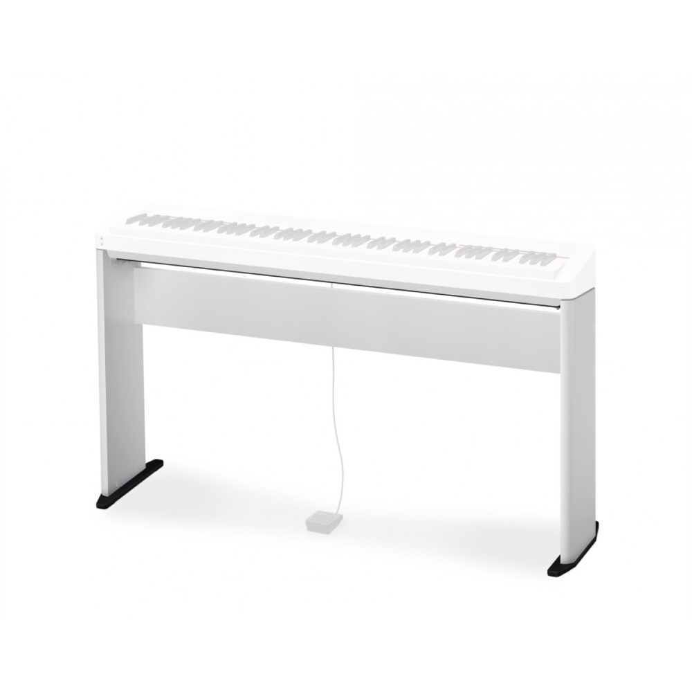 Casio CS68PWE Wooden Keyboard Stand White