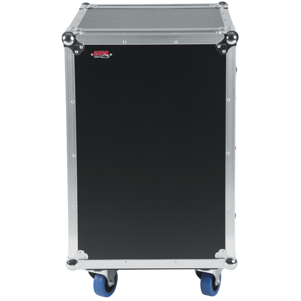 GATOR G-TOUR 16U CAST WOOD FLIGHT RACK CASE
