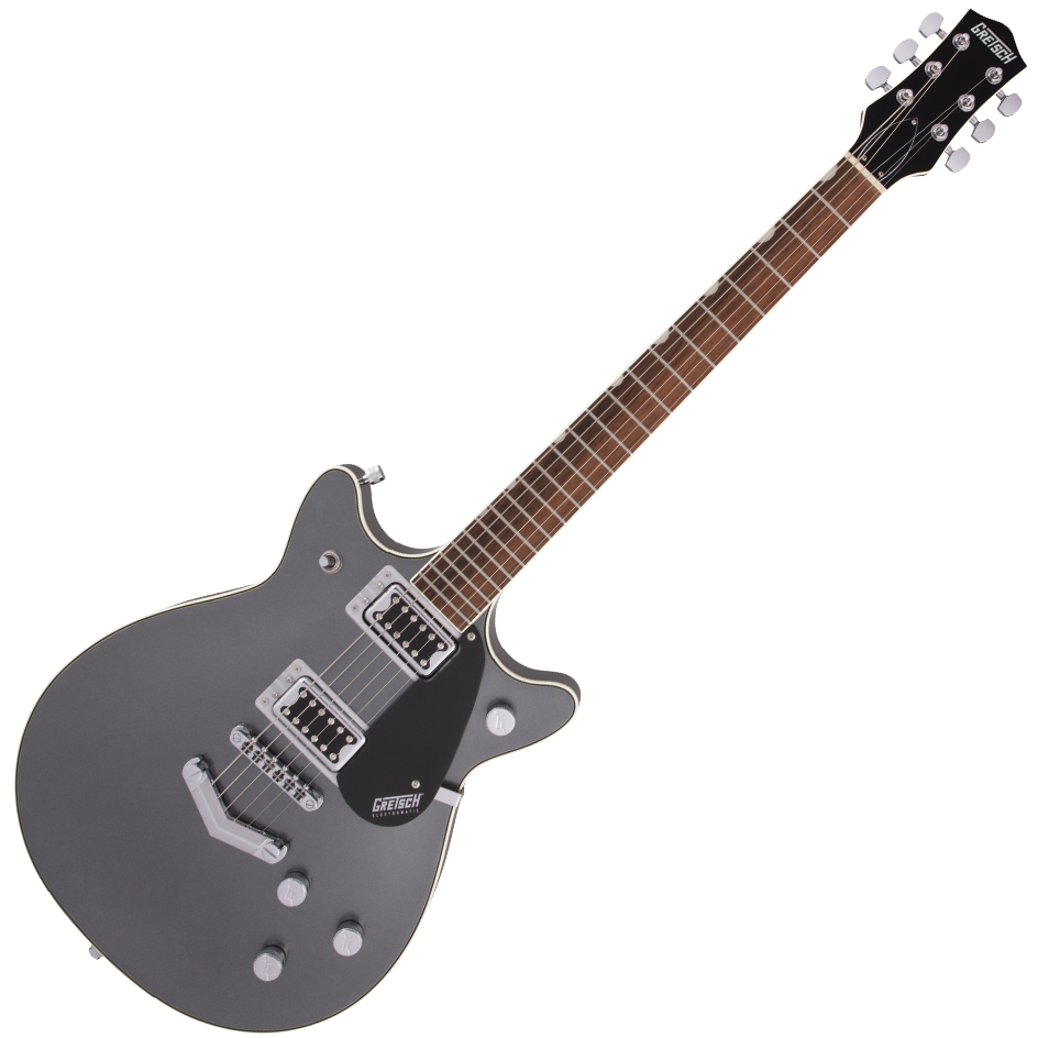 Gretsch G5222 Electromatic Double Jet™ BT with V-Stoptail - Laurel Fingerboard - London Grey
