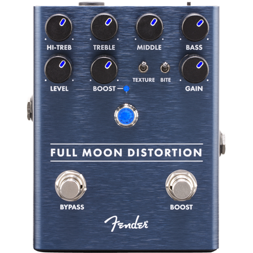 Fender Full Moon Distortion Effects Pedal