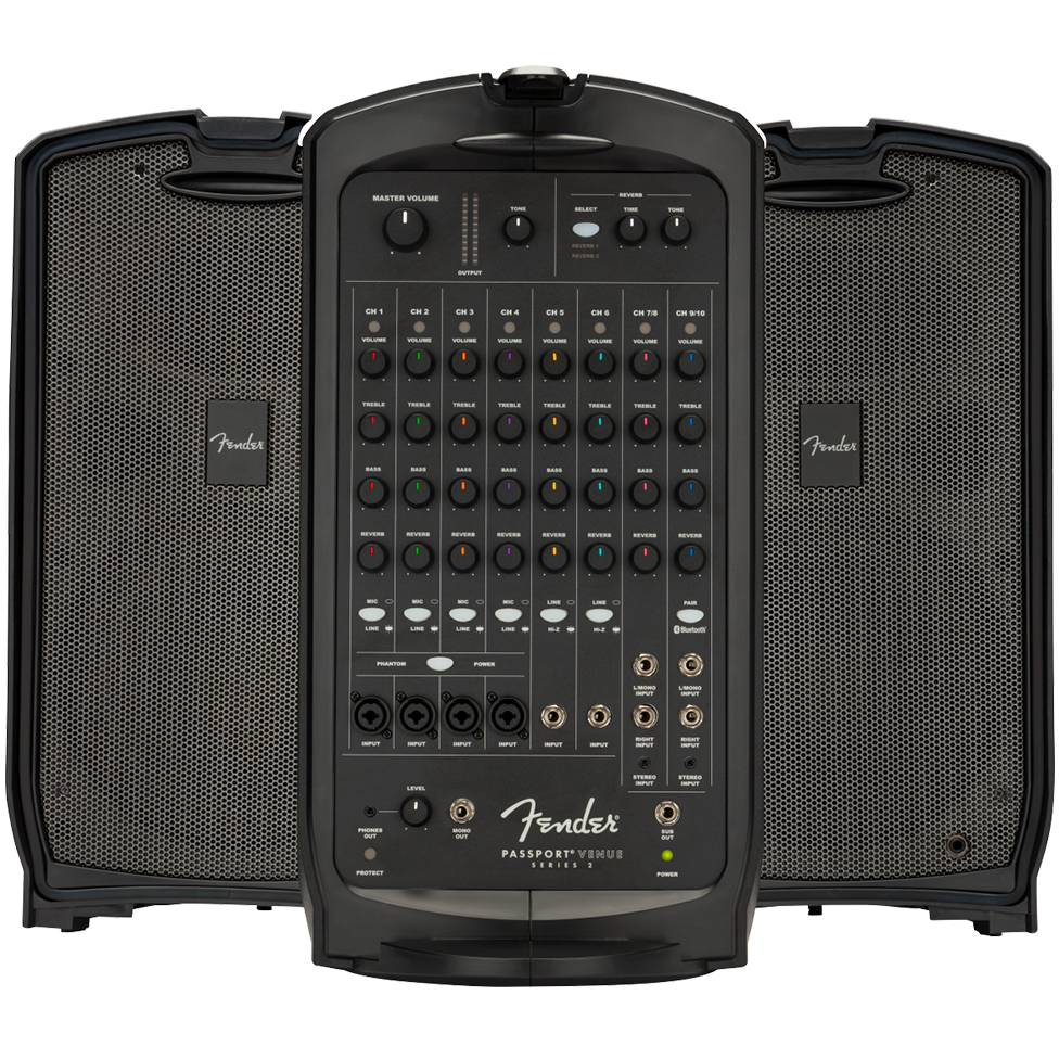 Fender Passport Venue Series 2 - Black - 240V AUS