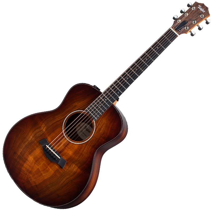 Taylor GS MINI-e Koa Plus - ES-2 Pickup w/Deluxe Gig Bag