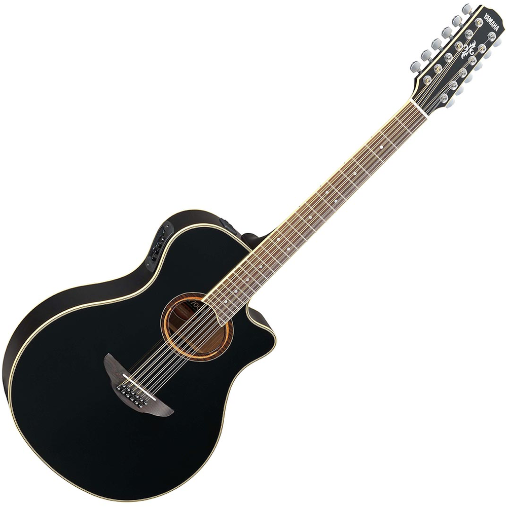 Yamaha APX700II 12-String Electric-Acoustic Guitar - Black