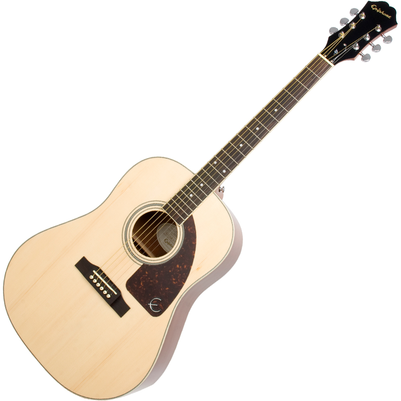 Epiphone AJ-220S Solid Top Acoustic Natural - Natural
