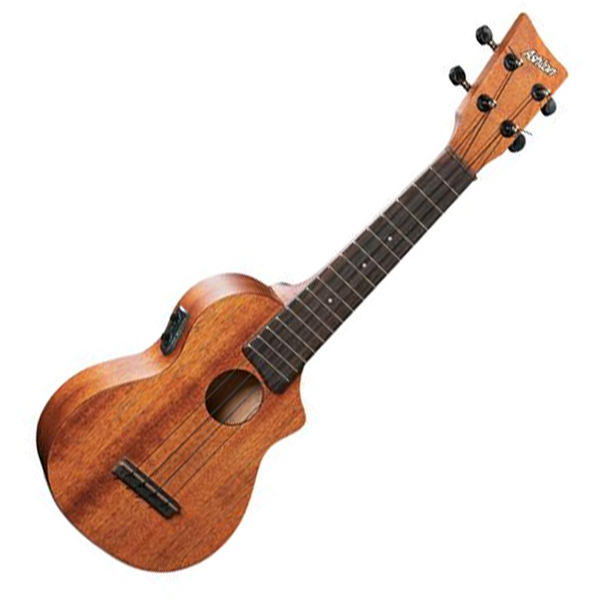 Ashton UKE220EQMH Soprano Ukulele with Pickup