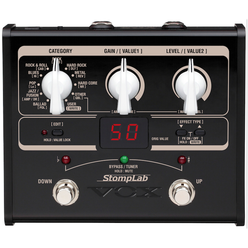 Vox Stomplab I Guitar Multi Effects Pedal